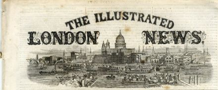 1861 ILLUSTRATED LONDON NEWS Staten Is AMERICAN WAR Cottons Wharf Southwark 6901
